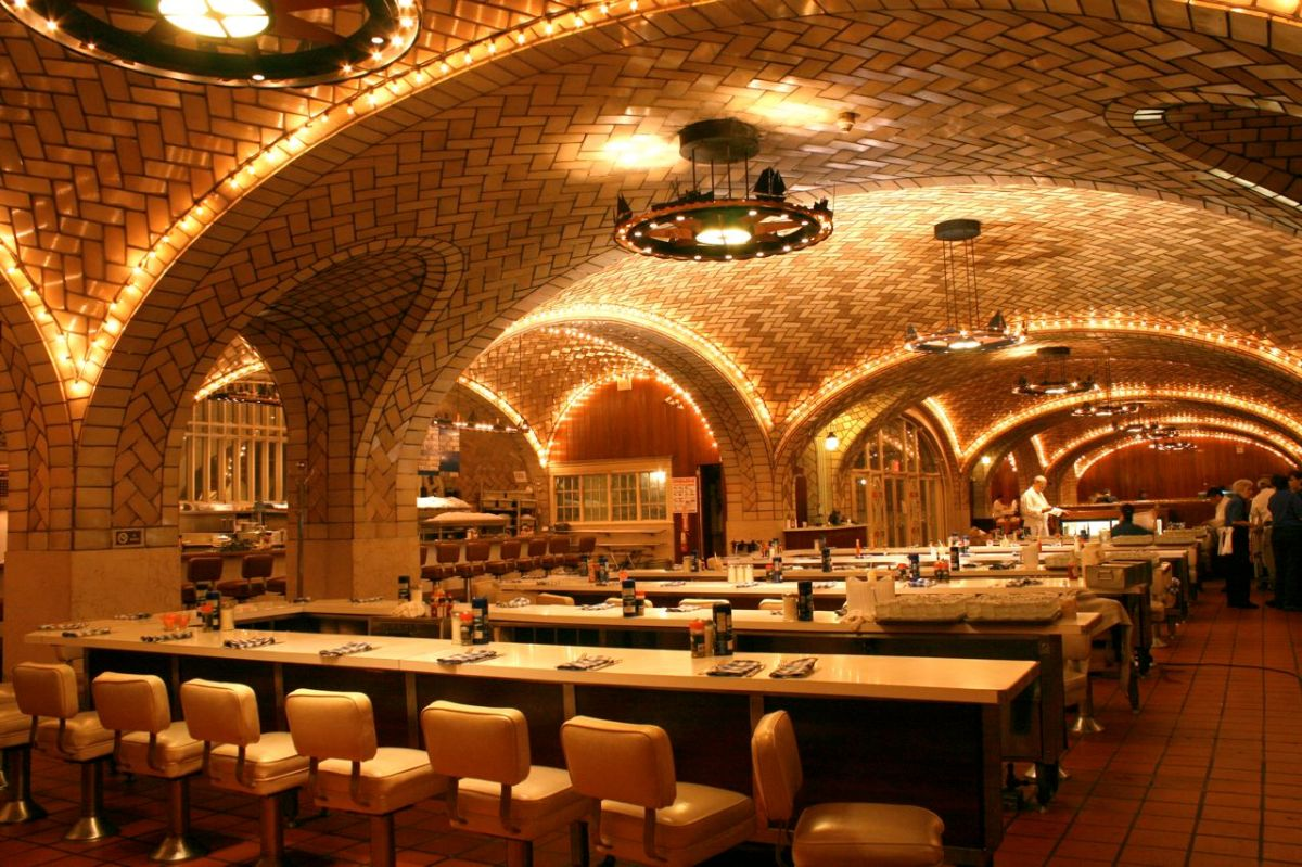 Grand Central Oyster Bar Video Peter Moruzzi S Mid Century