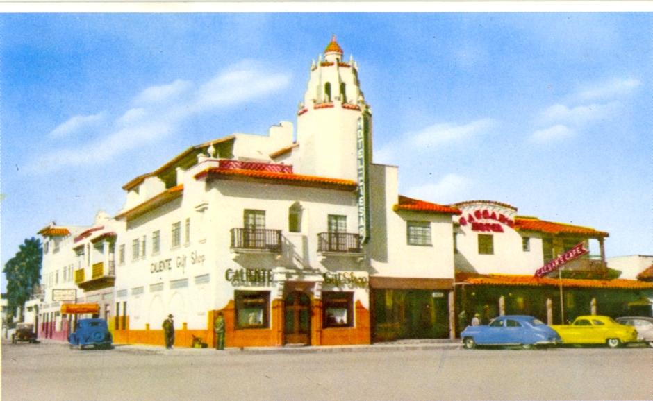 Caesar's Restaurant in the 1940s