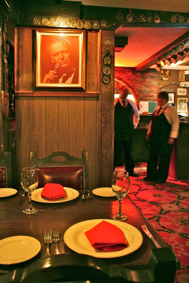 Frank Sinatra's Favorite Table