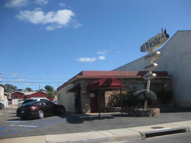 The Old Trieste Restaurant in San Diego