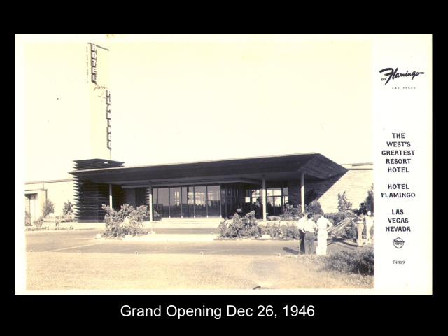 Flamingo Opening Dec 1946