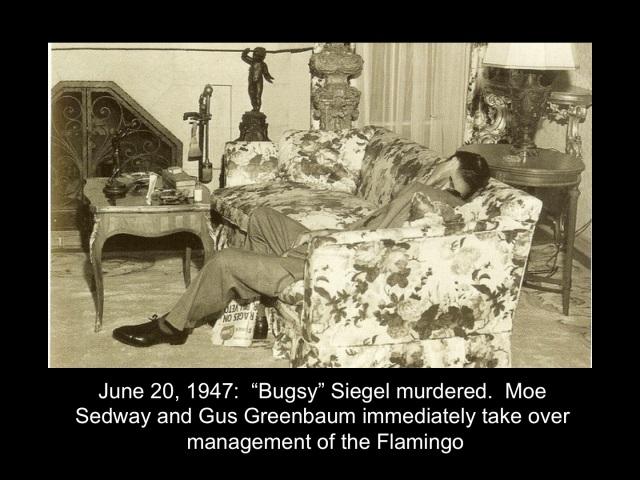 Siegel Murdered