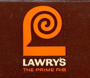 Lawry's Saul Bass logo