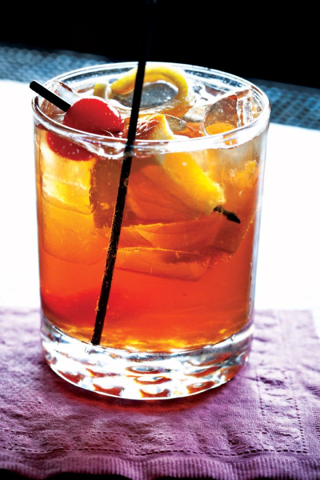 The famous Wisconsin Brandy Old Fashioned