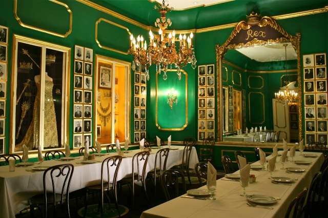 Antoine's Restaurant New Orleans.  Established 1849