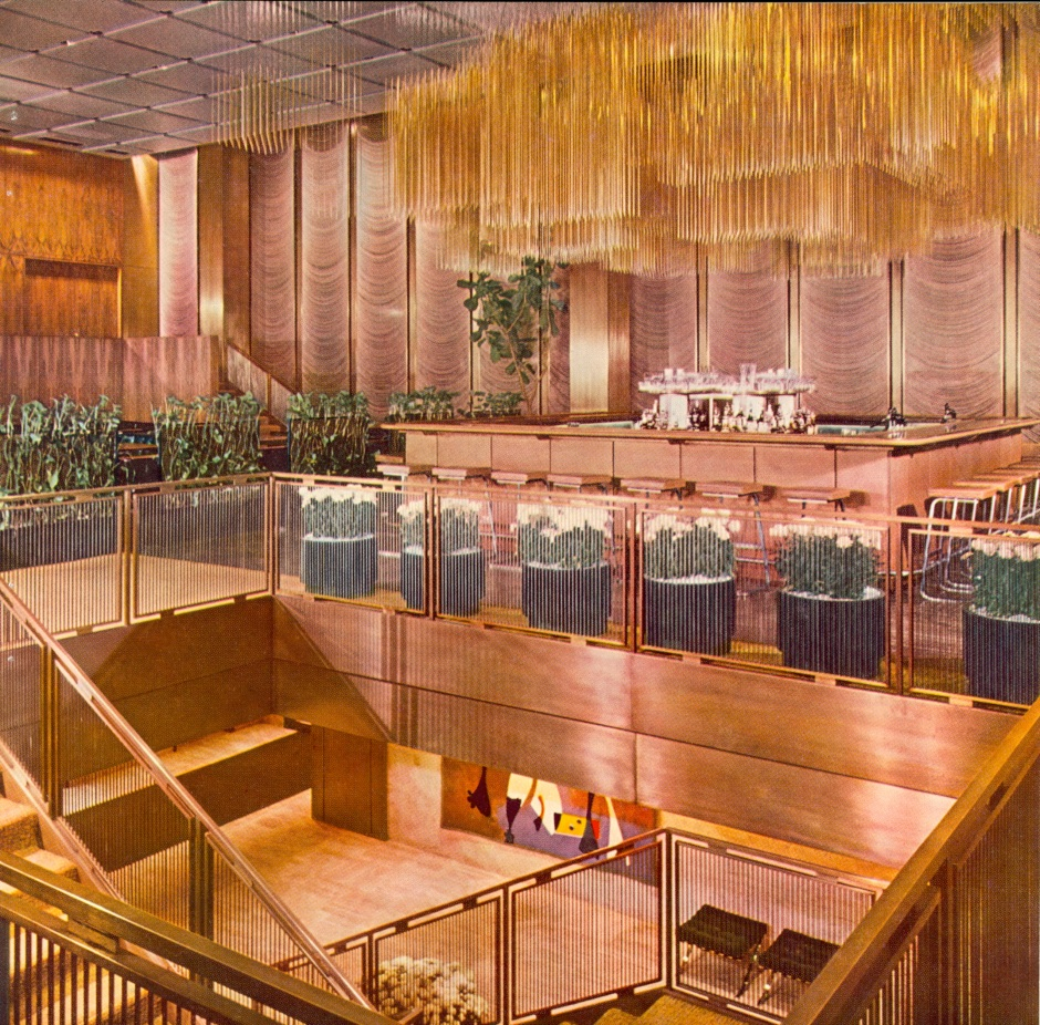The magnificent Four Seasons Grill Room.