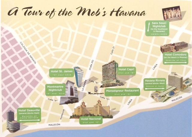 "Tour Map in ""Havana Before Castro"""