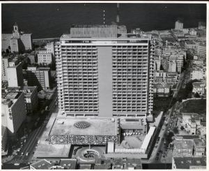 Habana Hilton upon completion in 1958