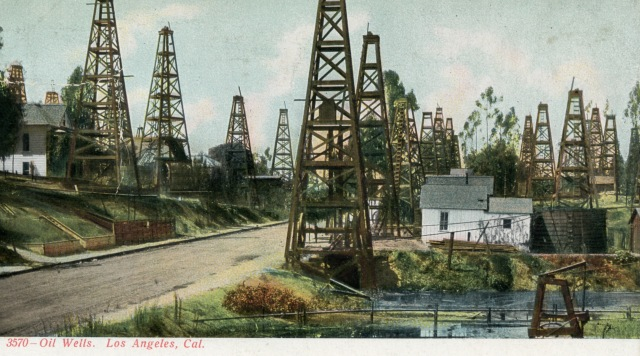 Neighborhood Oil Wells